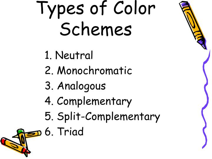 Types of Color Schemes