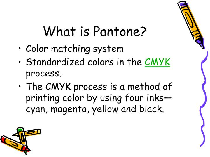 What is Pantone?