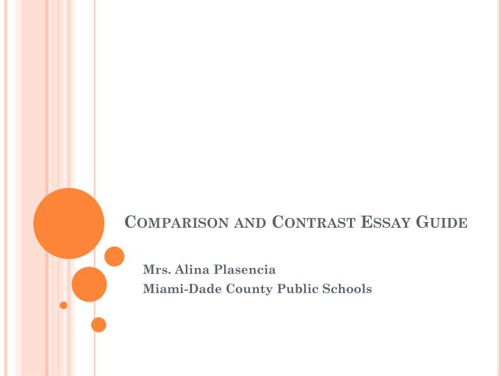 Write my compare contrast essay powerpoint