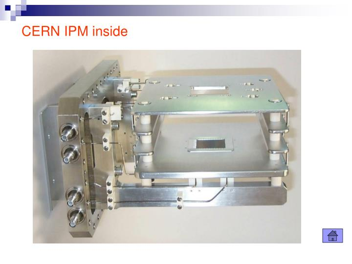 CERN IPM inside