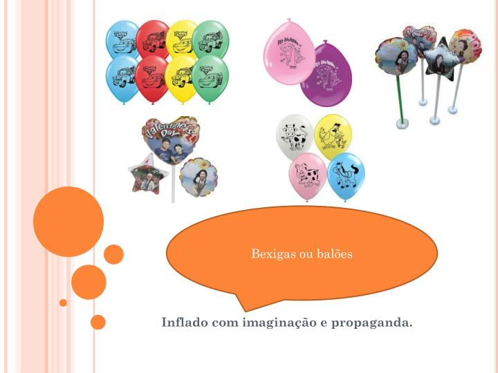 Bexigas ou balões