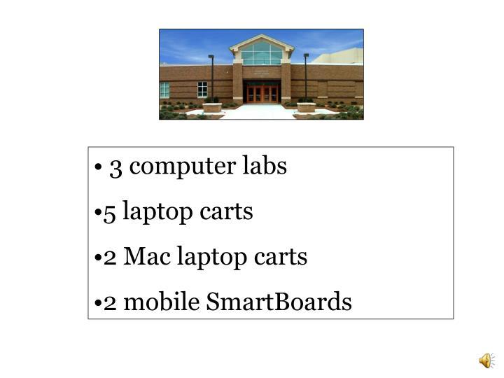 3 computer labs
