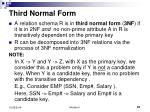 third normal form1