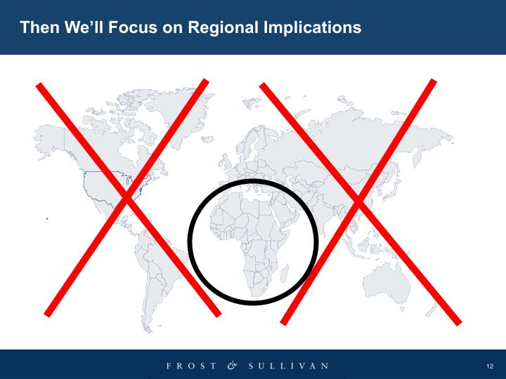 Then We'll Focus on Regional Implications