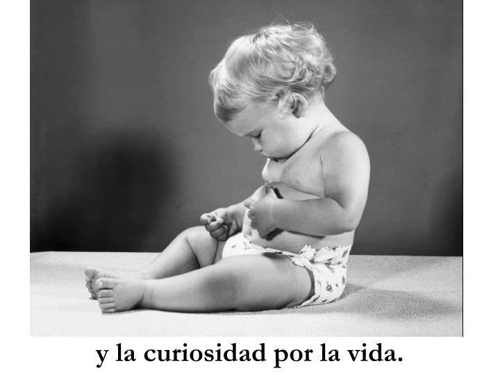 y la curiosidad por la vida.