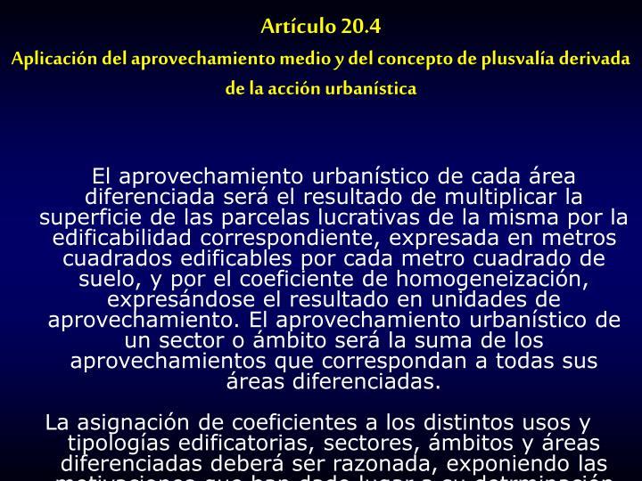 Artículo 20.4