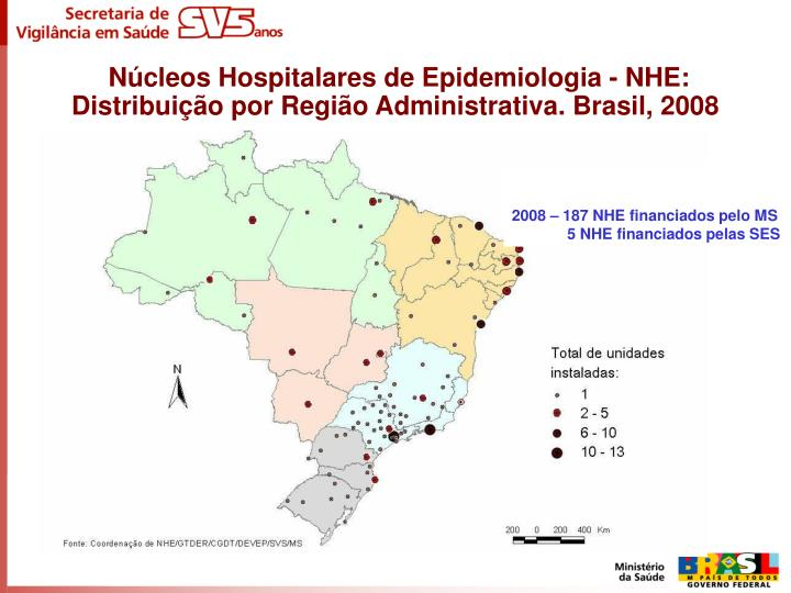 Núcleos Hospitalares de Epidemiologia - NHE: