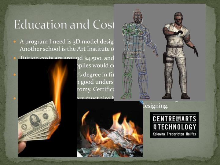 Education and Costs.