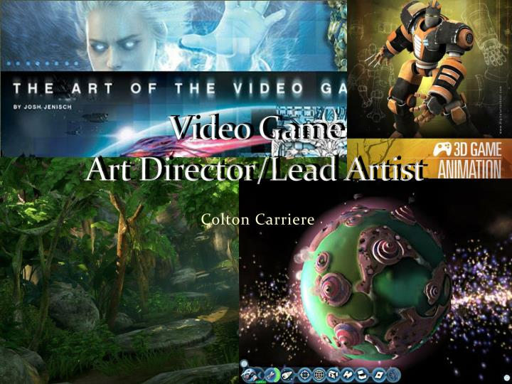 Video game art director lead artist
