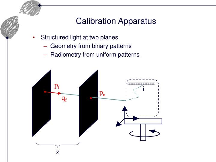 Calibration Apparatus