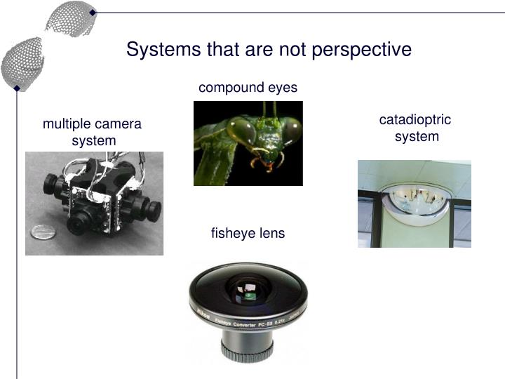 Systems that are not perspective