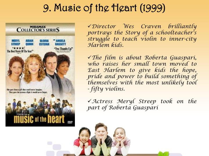 9. Music of the Heart (1999)