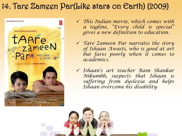 14. Tare Zameen Par(Like stars on Earth) (2009)