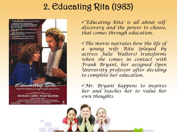 2. Educating Rita (1983)