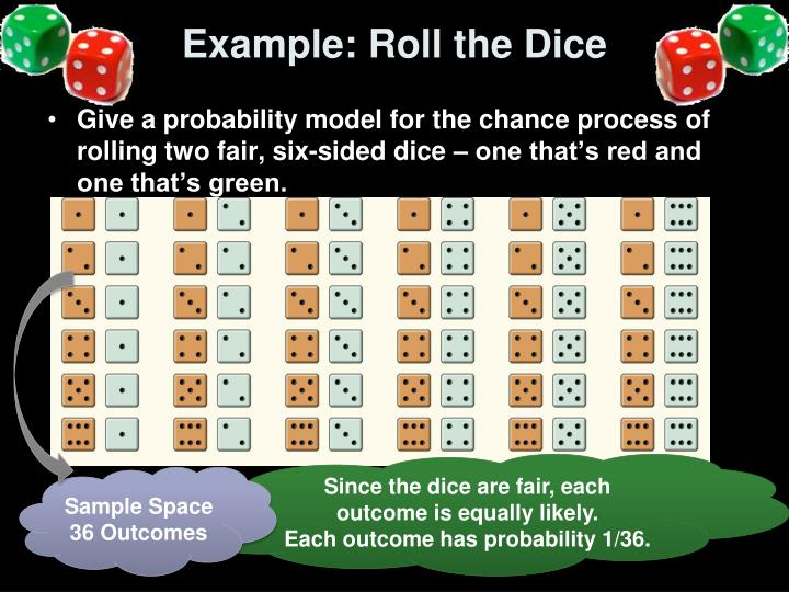 Example: Roll the Dice