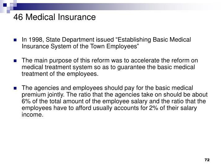 46 Medical Insurance
