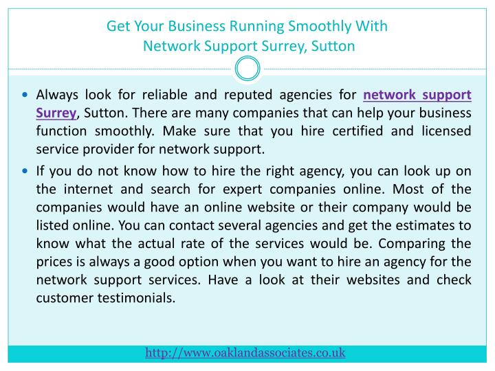 Get Your Business Running Smoothly With