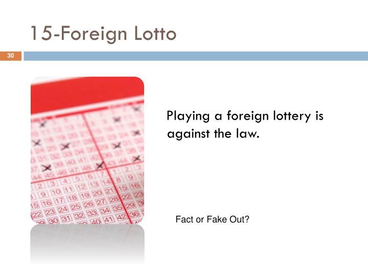 15-Foreign Lotto