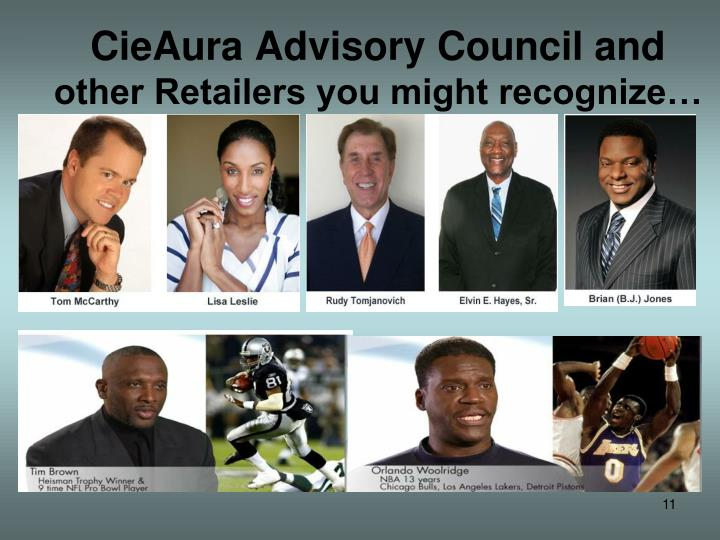 CieAura Advisory Council and