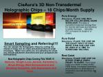 cieaura s 3d non transdermal holographic chips 18 chips month supply