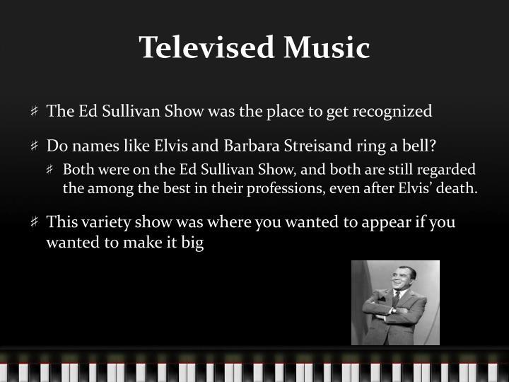 Televised Music