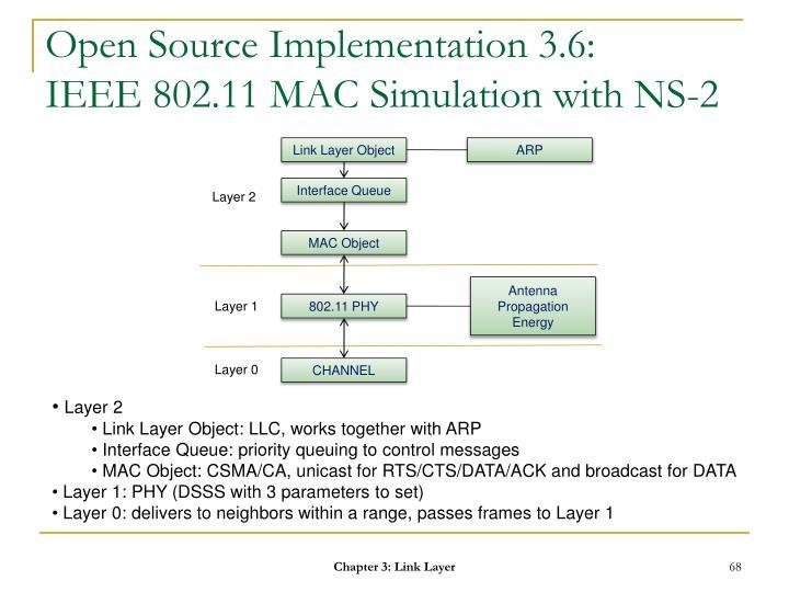 Open Source Implementation 3.6: