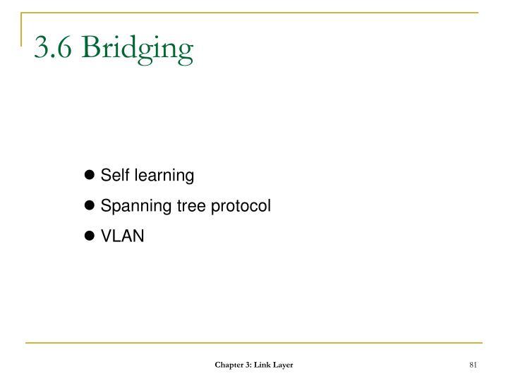 3.6 Bridging