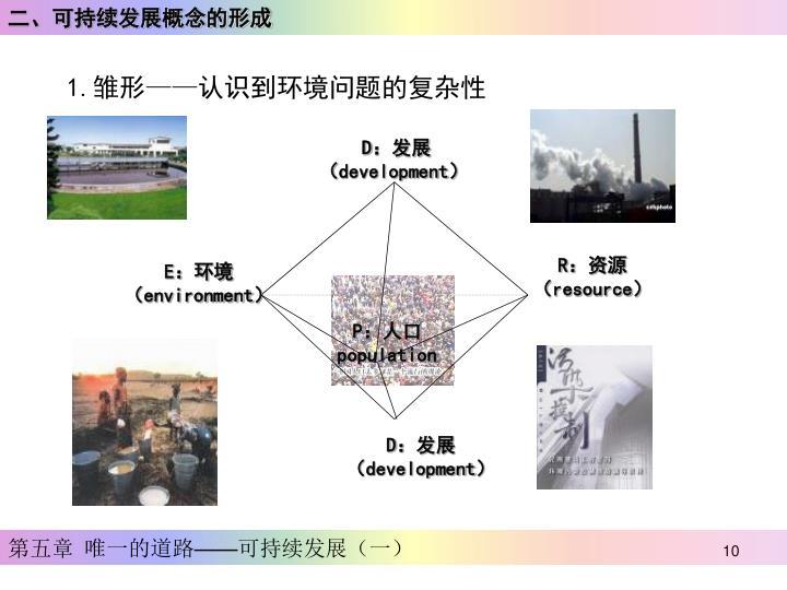 二、可持续发展概念的形成