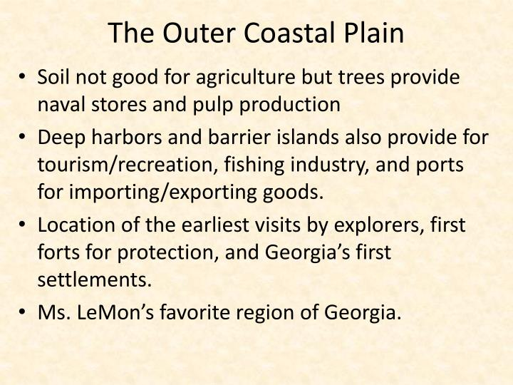 The Outer Coastal Plain
