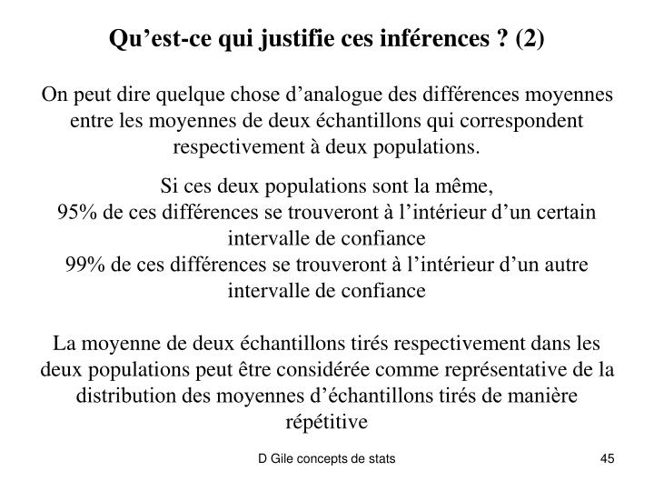 Qu'est-ce qui justifie ces inférences ? (2)