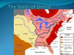 the seeds of unrest