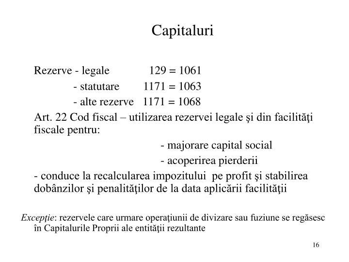 Capitaluri