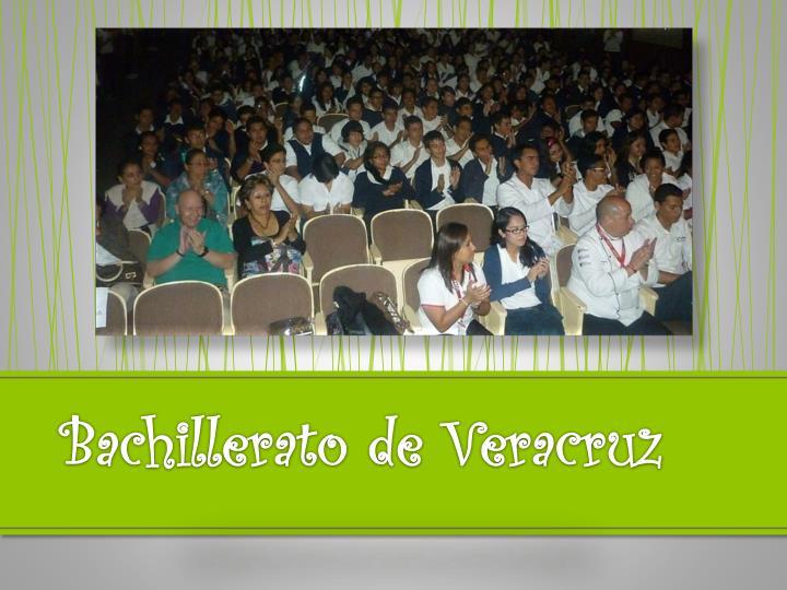 Bachillerato de Veracruz