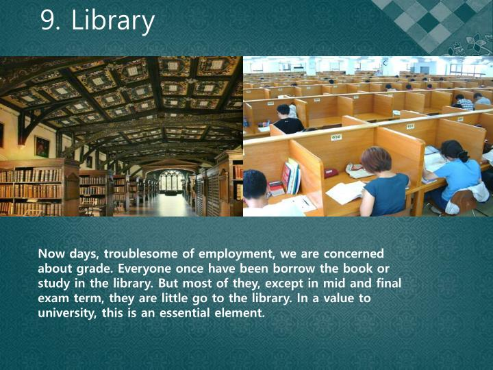 9. Library