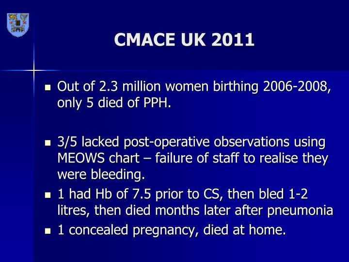 CMACE UK 2011