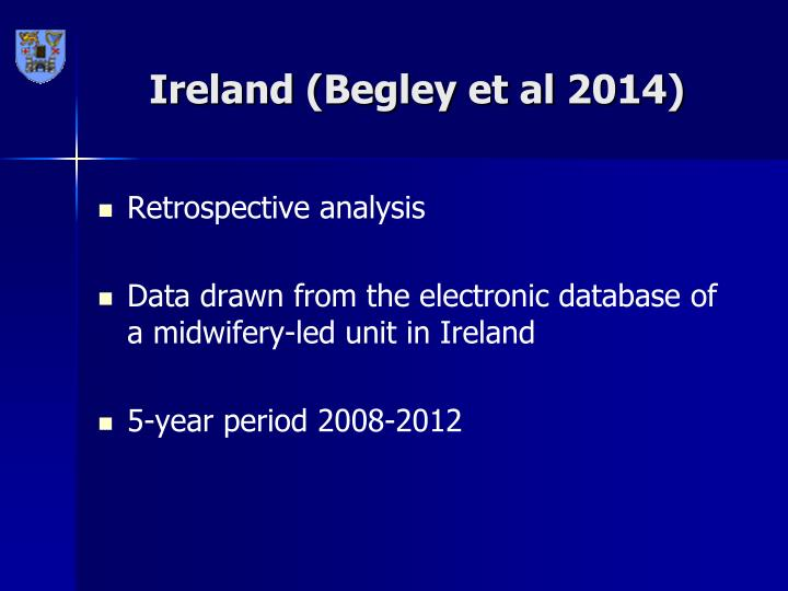 Ireland (Begley et al