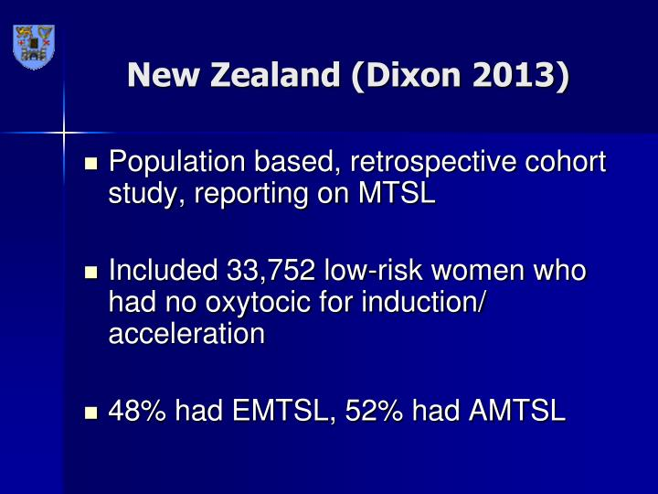 New Zealand (Dixon 2013)