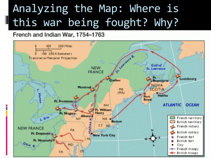 Analyzing the Map: Where is this war being fought? Why?