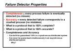 failure detector properties