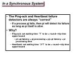 in a synchronous system