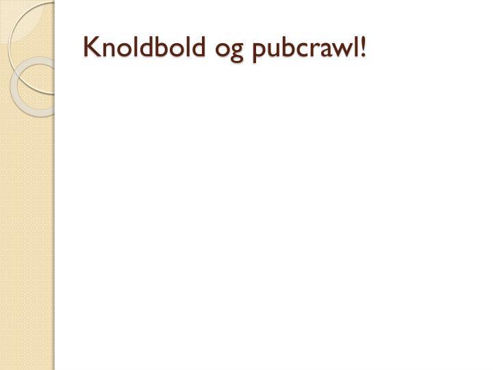 Knoldbold og