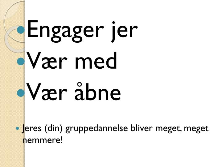 Engager jer