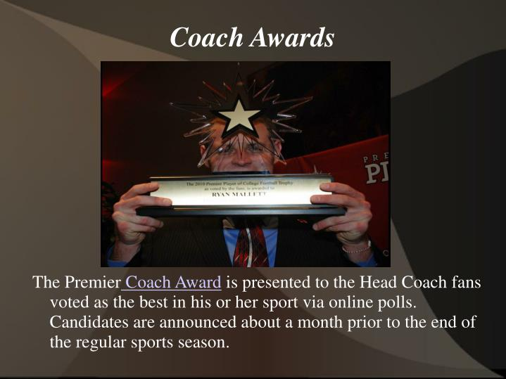 Coach Awards