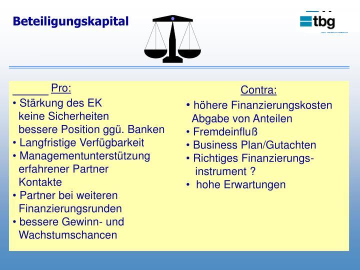 Beteiligungskapital