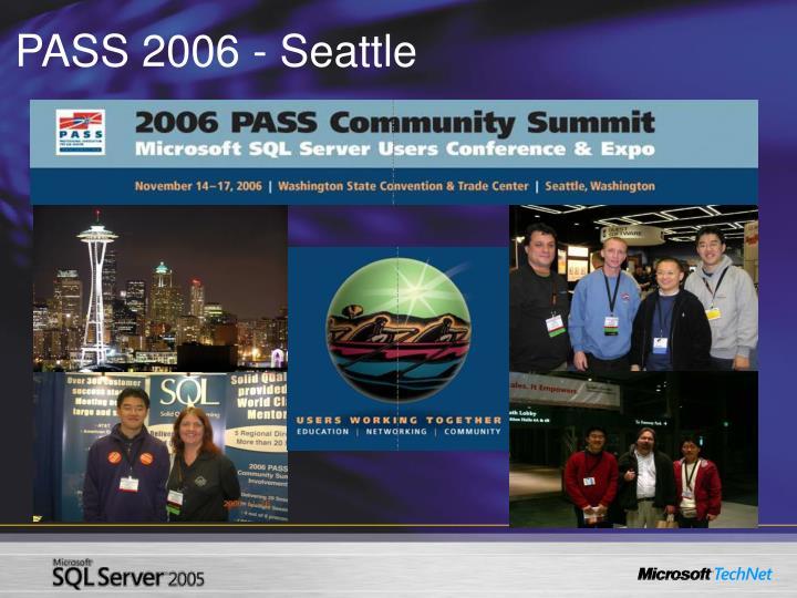 PASS 2006 - Seattle