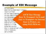 example of edi message1
