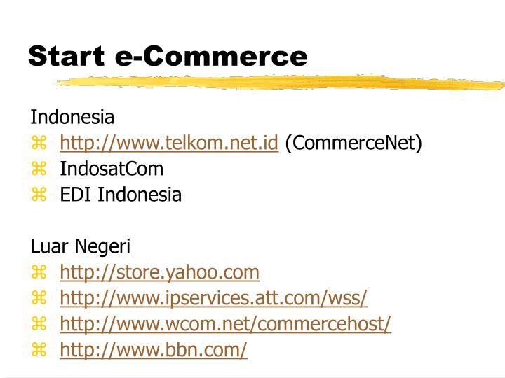 Start e-Commerce