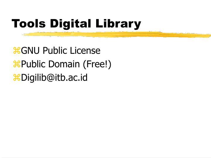 Tools Digital Library