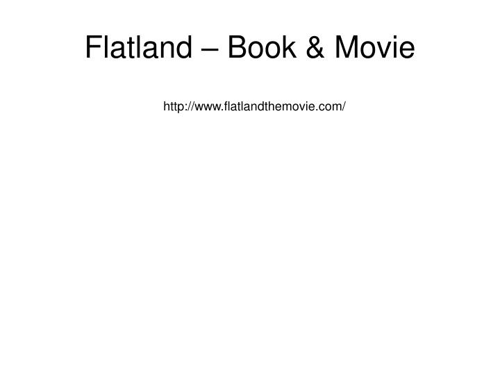 Flatland – Book & Movie