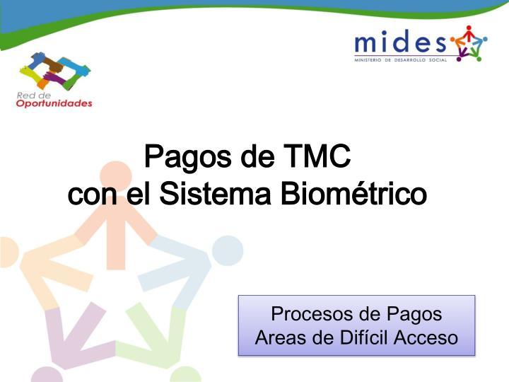 Pagos de TMC